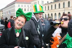 St. Patrick's Day Munich 2013