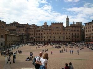 In Piazza del Campo