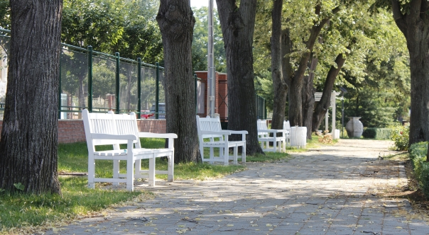 O alee liniştită în parc, Duminica