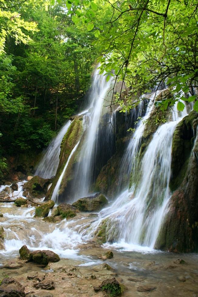 Cascada Beusnita, bijuterie tandra / Beusnita waterfall, fragile jewel