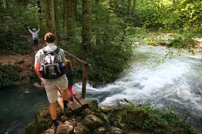 Cu familia pe poteci / Family on mountain trails