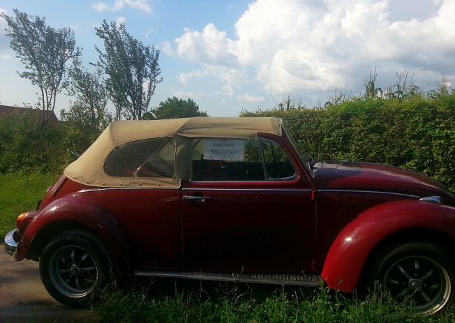 Masina veche de vanzare in Potoc / Vintage car for sale in Potoc village, Caras-Severin county