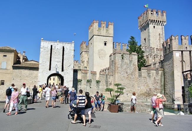 ... or enter the castle...