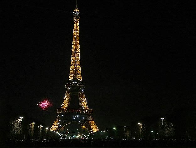Happy New Year!  Bonne Année! Ein Frohes Neues!