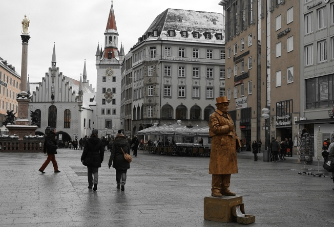 Entertainer in Marienplatz