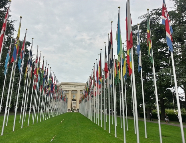 United Nations HQ in Geneva, Switzerland (GE)