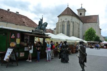 Alba Iulia - inside the citadel