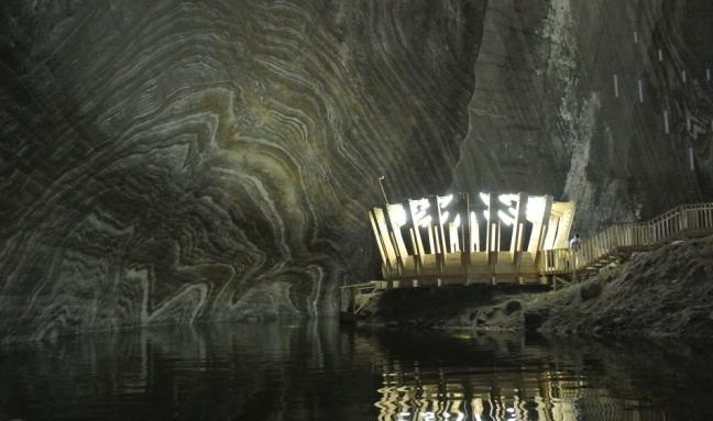 Turda Salt Mines (Salina Turda) - Lake