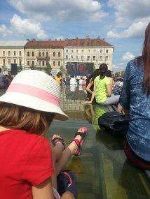 Cluj-Napoca - Unirii Square (Roland Garros public viewing of Simona Halep's final match)